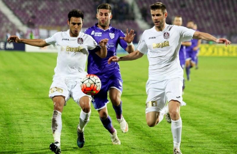 CE REVENIRE! În 10 oameni, CFR a marcat de două ori în prelungiri şi a egalat Timisoara: 2-2 - VIDEO