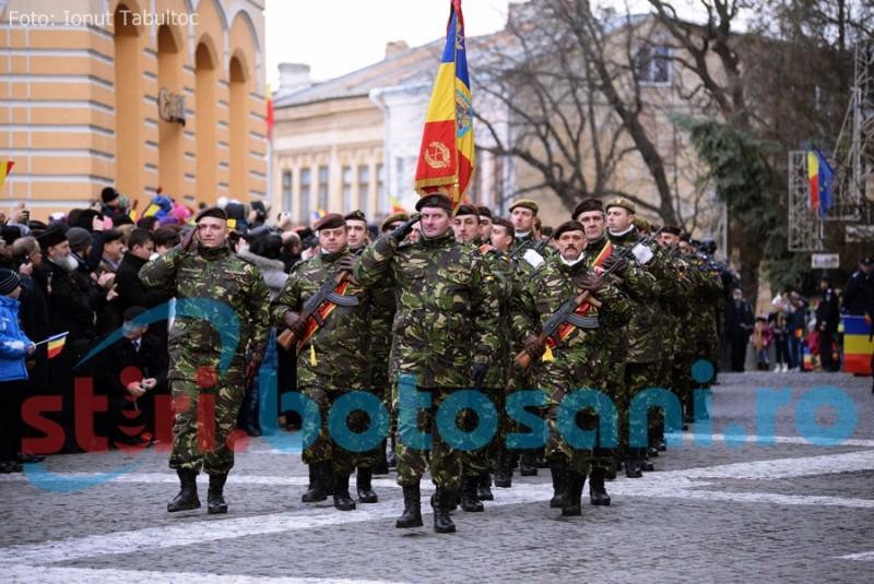 Ce îi aşteaptă pe botoşăneni, pe 1 Decembrie: Ceremonial militar şi religios, fasole cu cârnaţi şi un spectacol de excepţie!
