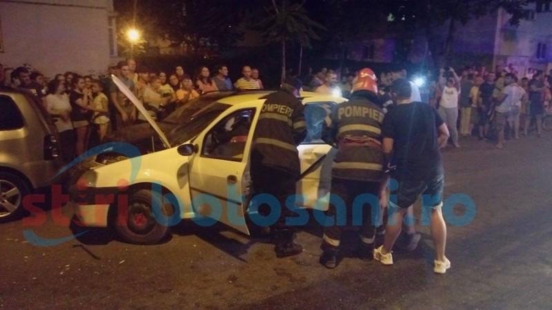 Ce spun reprezentanții Poliției despre cauzele producerii accidentului de pe strada Împărat Traian!