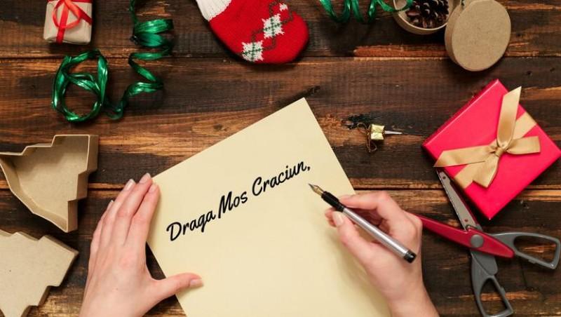 Cea mai frumoasă scrisoare către Moș Crăciun este a unui copil din Botoșani!