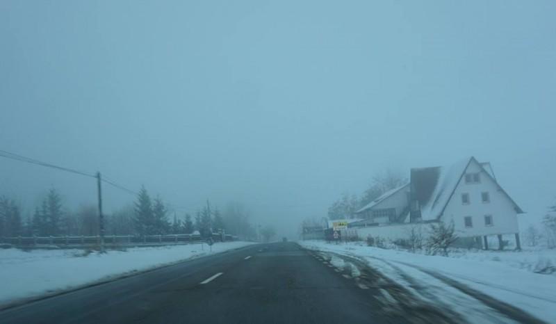 Ceață și temperaturi negative în toată regiunea, COD GALBEN la Botoșani. Cum se circulă pe drumurile naționale
