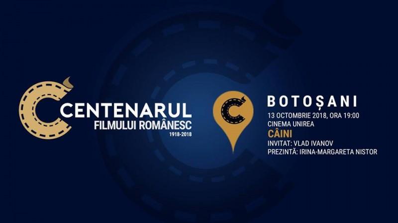 Centenarul Filmului Românesc ajunge la Botoșani cu doi invitați speciali: Irina-Margareta Nistor și Vlad Ivanov