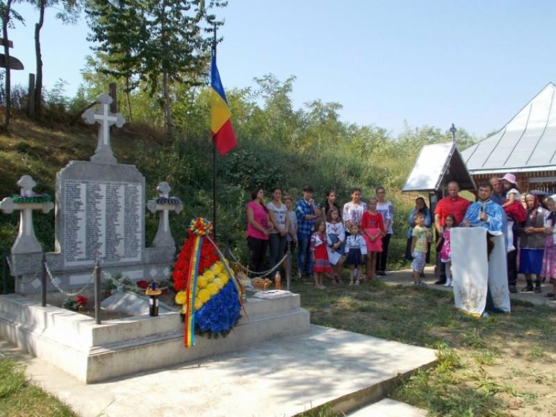 Centenarul luptelor de la Oituz, Cireşoaia şi Coşna, în Parohia Buzeni