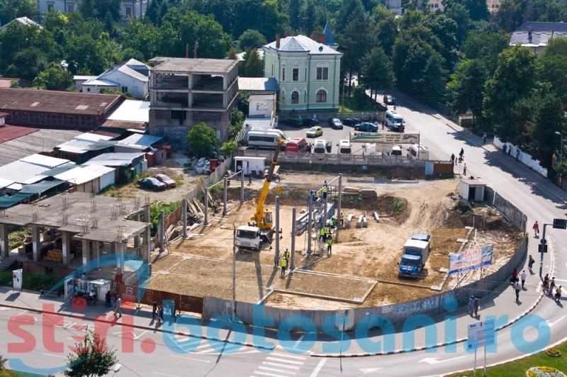 Centru comercial pe locul ruinelor de la Bazar-FOTO