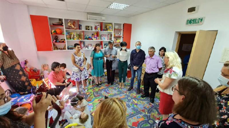 Centru înființat pentru copii cu probleme de vedere