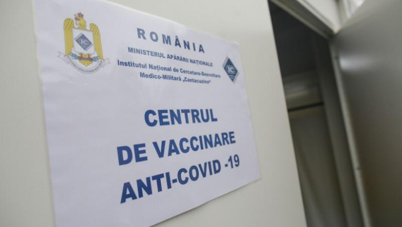 Centrul de vaccinare cu AstraZeneca, evitat de botoșăneni