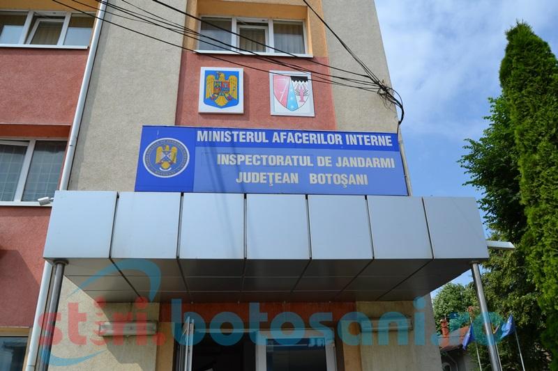 Centrul Vechi şi Parcul Tineretului- probleme de început de mandat la conducerea Jandarmeriei botoşănene