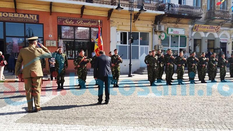 Ceremonial în memoria eroilor neamului, în Centrul Vechi al municipiului-FOTO