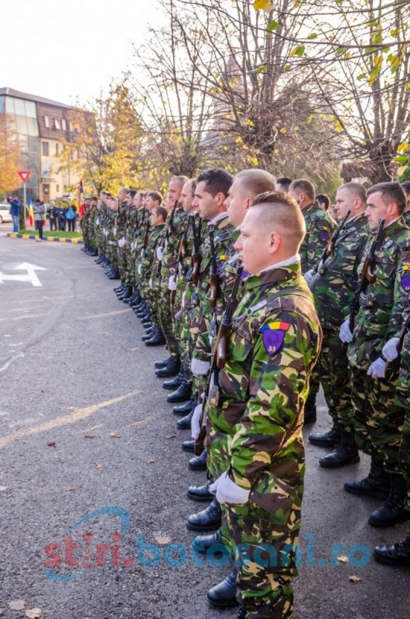 Ceremonial religios şi militar de Ziua Armatei Române, la Botoşani – FOTO