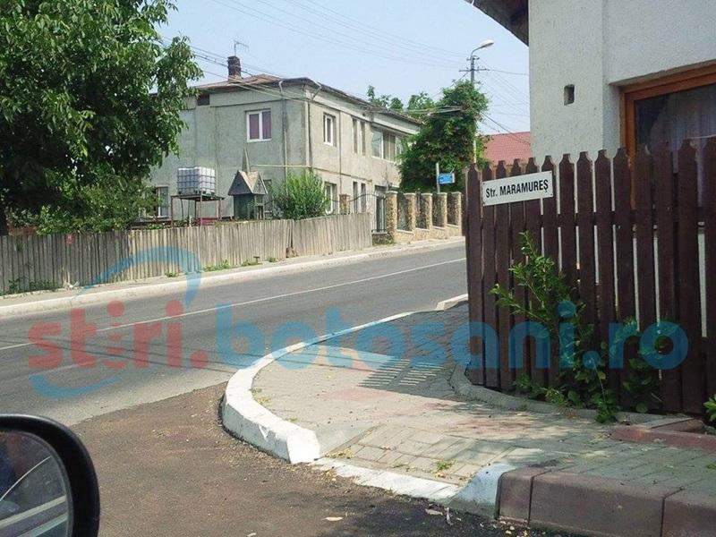 Cetăţeni deranjaţi de traficul greu de pe două străzi din municipiul Botoşani