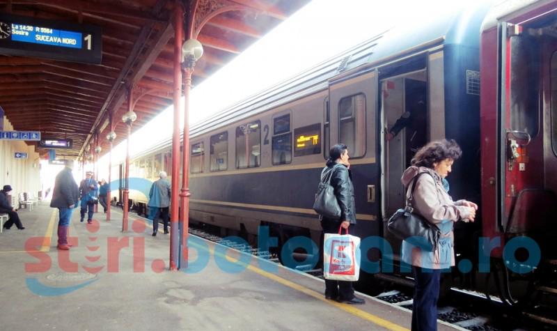 CFR Călători a suplimentat trenurile pe rutele cele mai căutate în perioada sărbătorilor de iarnă