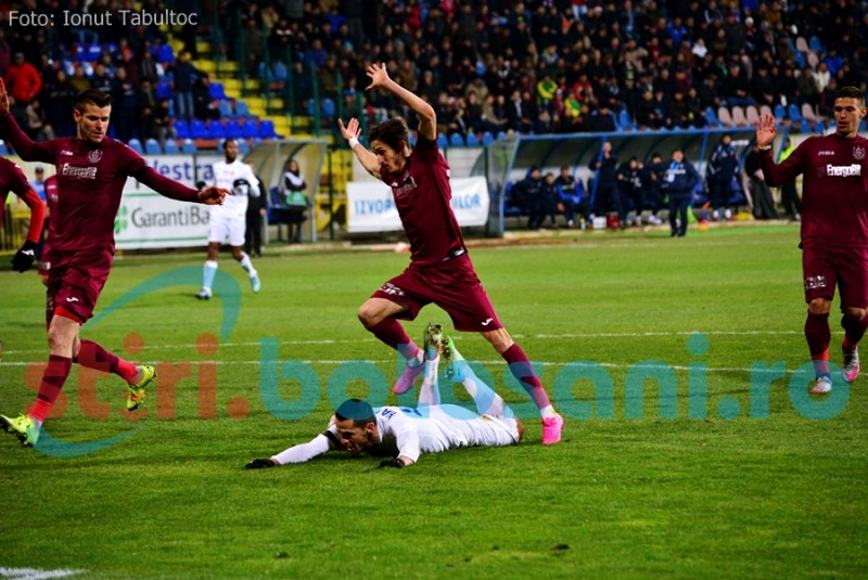 CFR Cluj - CS U Craiova 4-0 si vine la Botosani cu incredere!