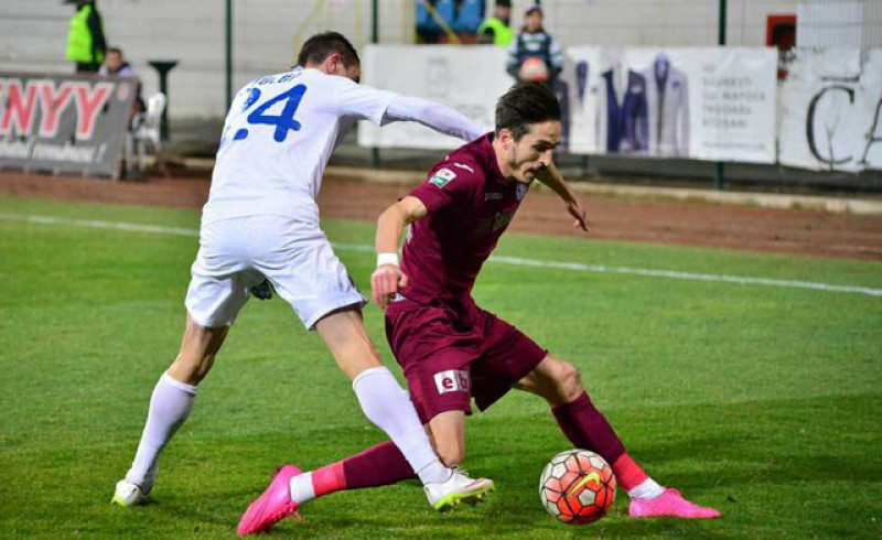 CFR Cluj - FC Botoșani 2-1! Măcinați de accidentări, elevii lui Croitoru au fost aproape de surpriză în Gruia!
