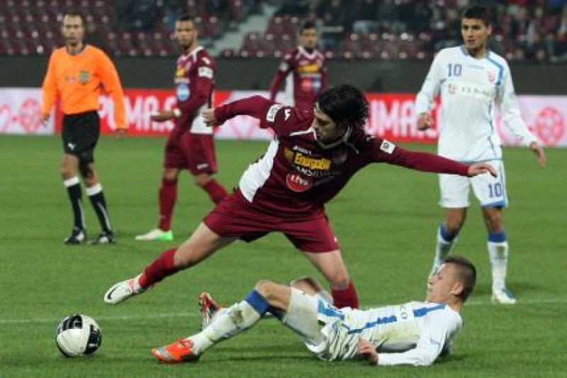 CFR Cluj invinge cu 3-1. Opt infrangeri consecutive pentru FC Botosani!