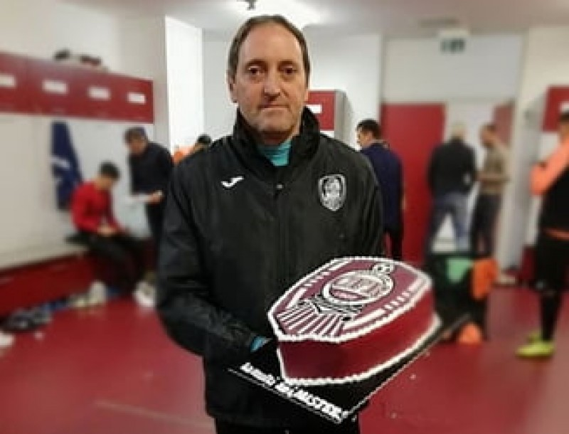 CFR Cluj si-a demis antrenorul
