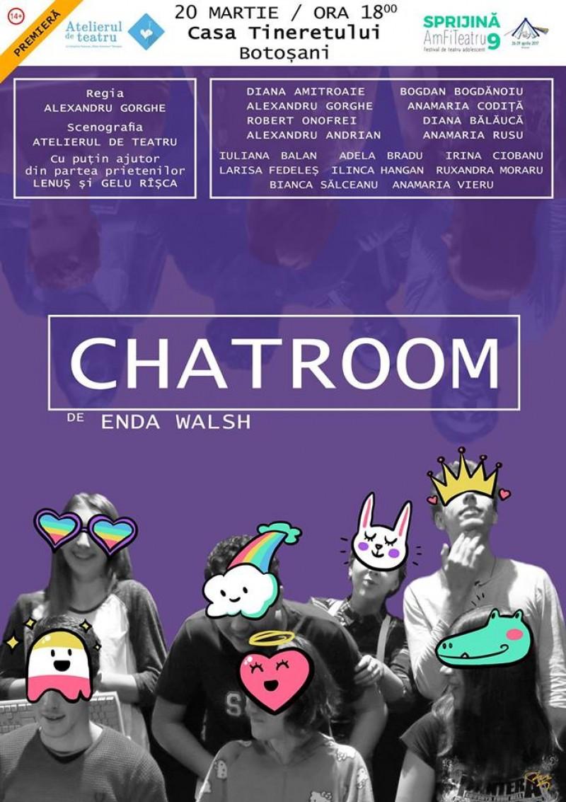 CHATROOM, un spectacol cu și despre adolescenți!