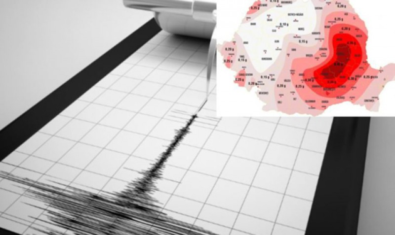 Cinci cutremure, seara trecută, în România. Cel mai puternic a avut magnitudine de 4.2 grade pe scara Richter și a fost resimţit şi la Botoșani