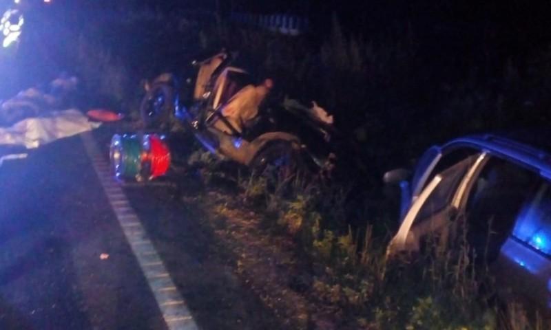 Cinci persoane au murit, în urma unui accident rutier în care au fost implicate trei maşini, înregistrat la Vaslui
