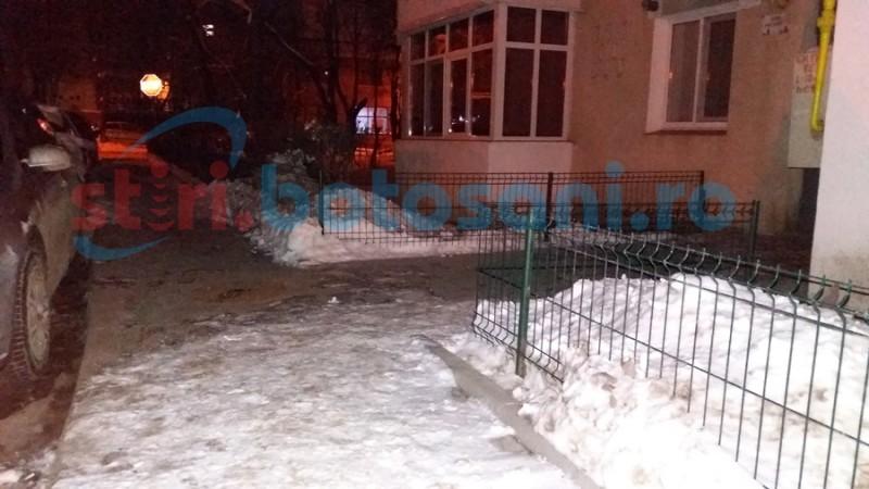 Cine luptă cu zăpada şi unde? Mic îndreptar de deszăpezire în municipiul Botoşani FOTO