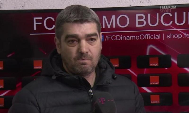 """Ciobotariu, după eşecul cu Dinamo: """"Aş vrea să am şi eu acasă un arbitraj ca acesta"""""""