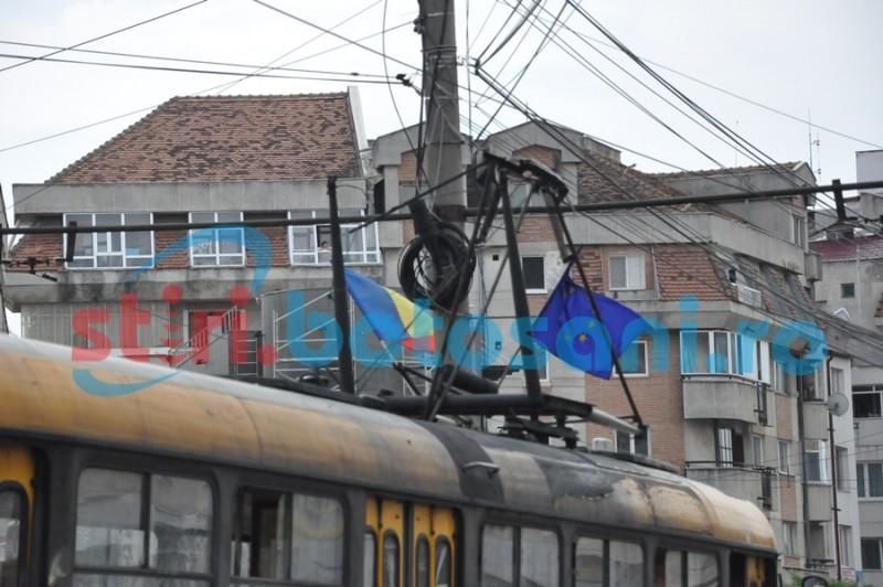Circulația tramvaielor, oprită în întreg municipiul Botoșani!