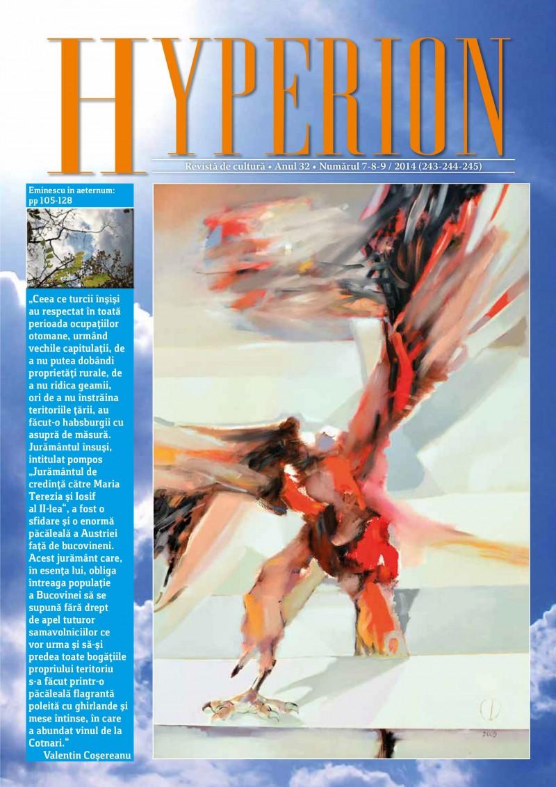 Citeşte AICI noul număr al Revistei de cultură Hyperion!