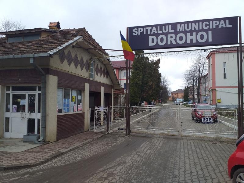 CJSU: Spitalul din Dorohoi funcționează, de azi, ca unitate COVID de nivel II