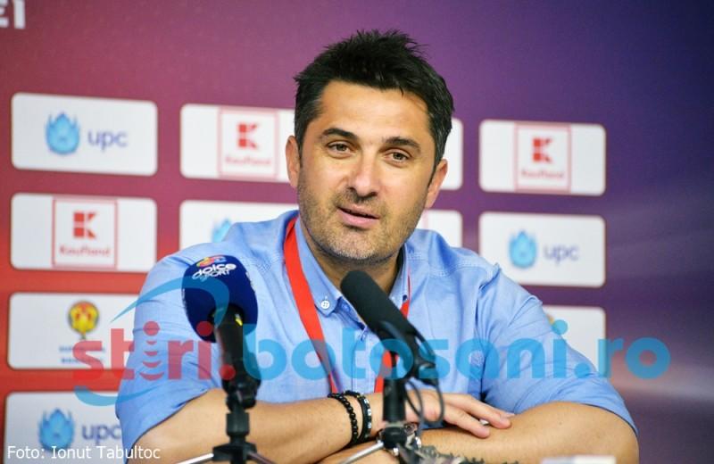 """Claudiu Niculescu: """"Acum plec fericit de la Botoșani"""""""