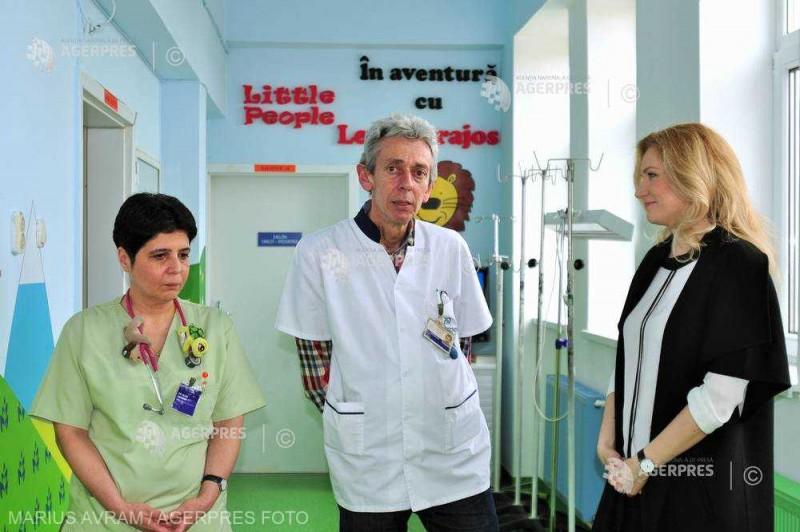 Clinica de Pediatrie din Cluj-Napoca a inaugurat două camere sterile destinate copiilor cu afecţiuni oncologice