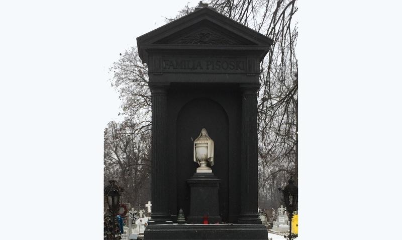 Clipe de istorie: Jerbe de flori la mormântul revoluționarului pașoptist botoșănean Nicolae Pisoski, de Ziua Micii Uniri