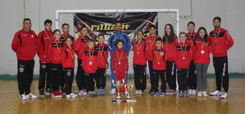Clubul botosanean Brilliant Taekwondo, locul 4 la Cupa Romaniei, dupa doar 1 an de activitate!