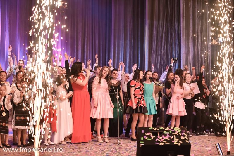 """Clubul """"Arlechin"""", pe podium la prima ediție internațională a Festivalului """"Tinere Speranțe Moldova"""" 2017"""