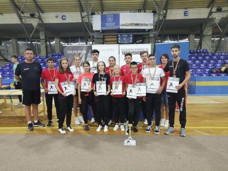 Clubului Sportiv Botoșani, locul 3 în Clasamentul General pe Echipe al Campionatului Național de Poomsae, la Taekwondo!