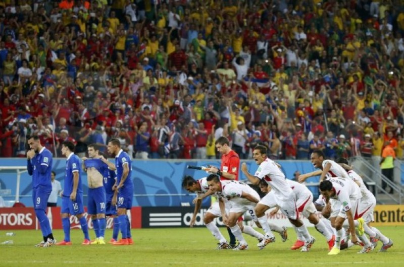 CM 2014: Costa Rica va intalni Olanda in sferturi, dupa ce a invins pe Grecia cu 5-3 (1-1) la penalty-uri - VIDEO