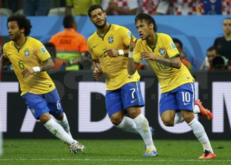 CM: Brazilia a invins cu 3-1 pe Croatia - VIDEO