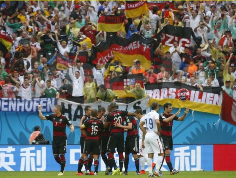 CM: SUA - Germania 0-1 » Ambele echipe se califică în optimile de finală