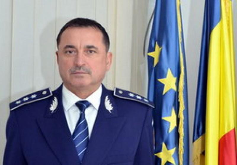 Cms. şef Viorel Şerbănoiu, împuternicit şef al IPJ Botoşani
