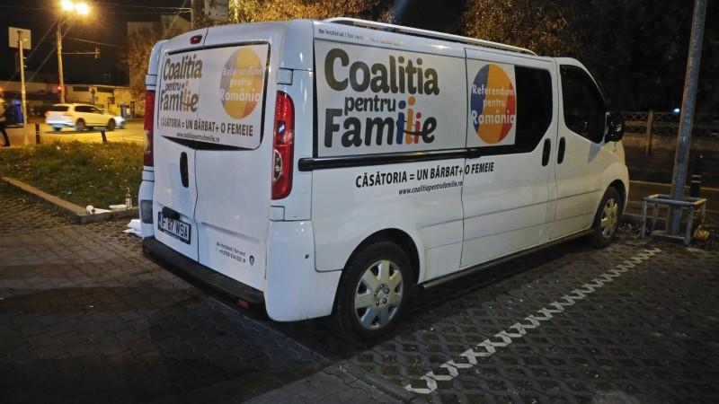 """Coaliția pentru Familie a dat startul circuitului național de caravane: """"Referendum pentru Romȃnia"""""""
