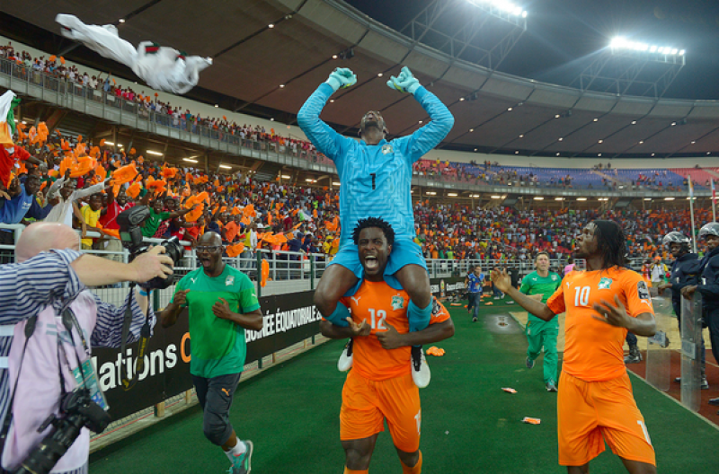 Coasta de Fildeş a câştigat pentru a doua oară Cupa Africii pe Naţiuni! Portarul a fost EROUL finalei!