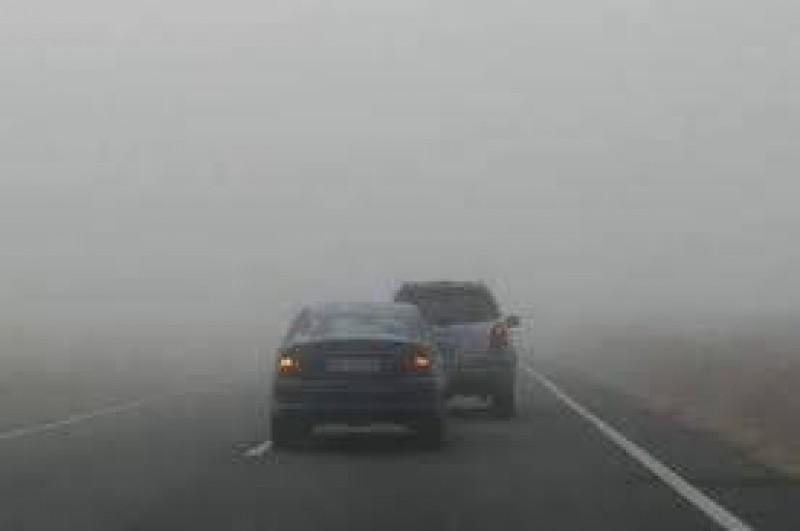 COD GALBEN de ceaţă!