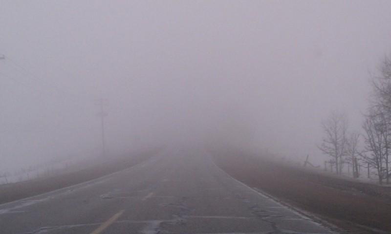 Cod galben de ceaţă anunţat de meteorologi în zona mai multor localităţi din judeţul Botoşani
