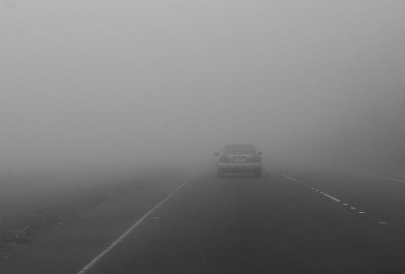 ANM: Cod galben de ceață în județul Botoșani
