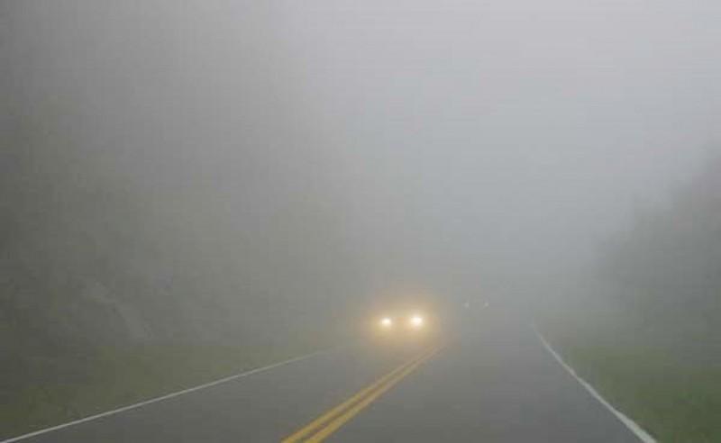 Cod GALBEN de ceață la Botoșani