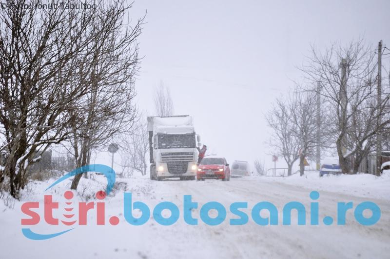 Cod Galben de ceață și chiciură pentru mai multe localități din județul Botoșani