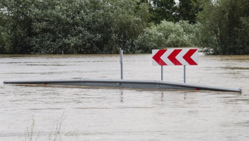 Cod galben de inundații pentru un râu din județ, prezintă risc și alte cursuri de apă
