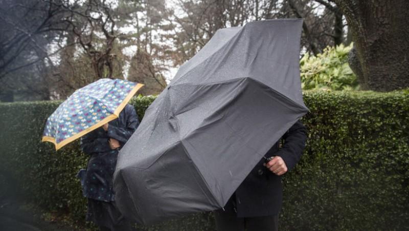Cod galben de ploi și vânt în Botoșani, valabil o zi întreagă