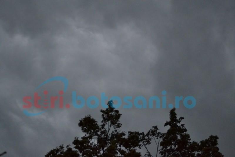 Cod Galben de vânt și ninsoare, pentru județul Botoșani!