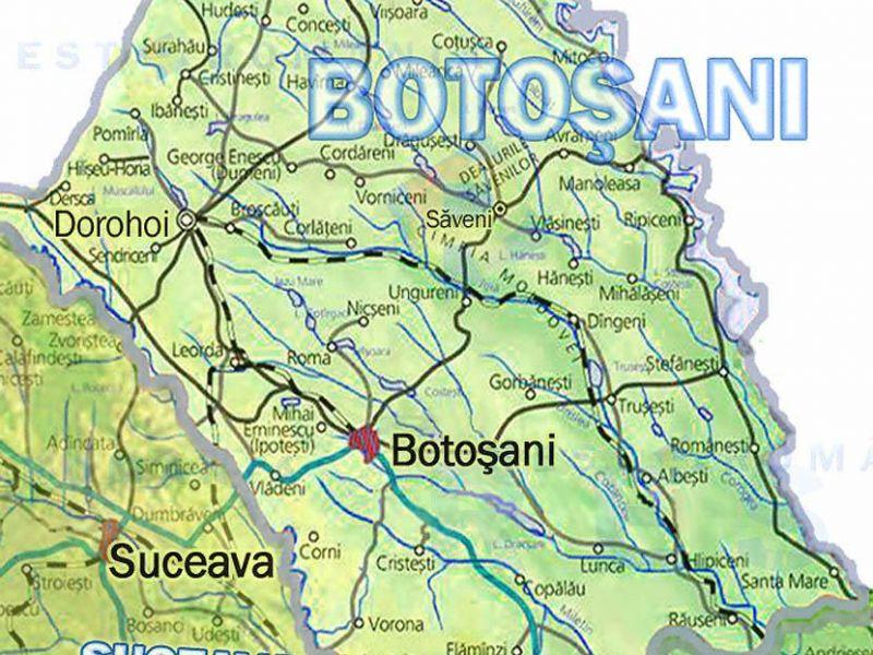 Cod galben emis de meteorologi pentru judeţul Botoşani!