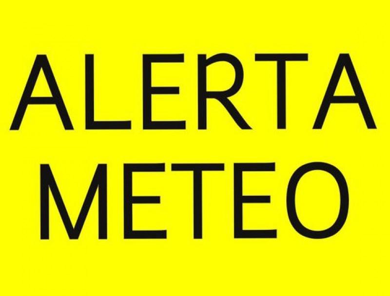 COD GALBEN pentru județul Botoșani: Ploi, vijelii și grindină!