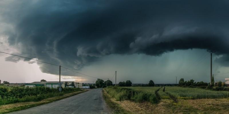 Cod roșu de vreme rea pentru mai multe localități din Botoșani